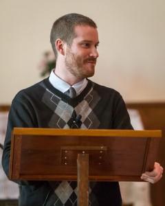 John preaching